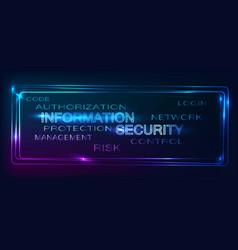 Backgroud security vector