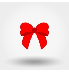 Bow Flat icon vector image