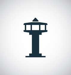 control tower icon vector image