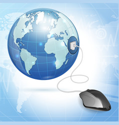 Global Computing Concept vector image