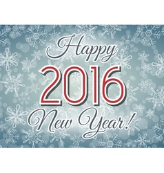 happy 2016 new year illustration vector image