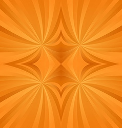 Orange spiral meditation background vector