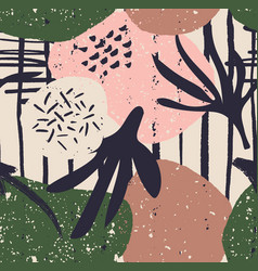 scandi abstract minimal modern poster minimal vector image