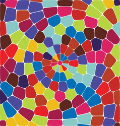 Circle tile background vector image vector image