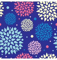 Colorful bursts seamless pattern background vector
