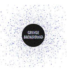 glitch splash grunge abstract background vector image vector image