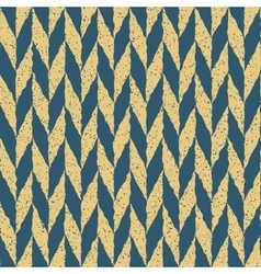 Seamless Blue Yellow Color Hand Drawn vector image vector image