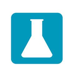 Beaker test tube for chemical experiment medical vector