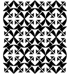 Futuristic black and white extraordinary geometric vector
