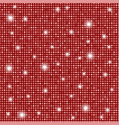 glamour red shining rounds seamless texture vector image