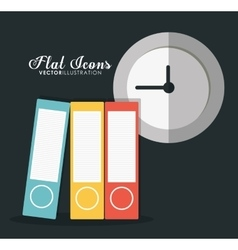 icon set Office Instrument design graphic vector image