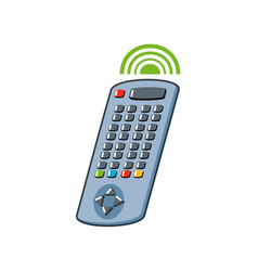Remote control isolated icon vector