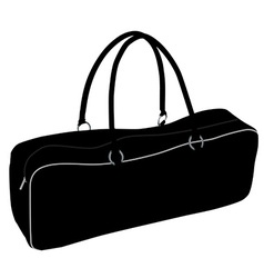 Sport bag vector