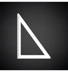 Triangle icon vector