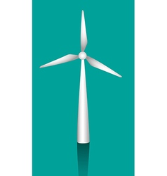 White windmills to generate energy vector