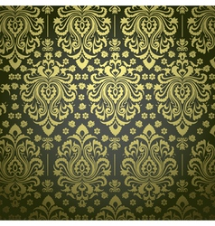 Luxury floral pattern vector image vector image