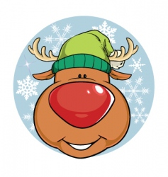 Rudolf vector image vector image