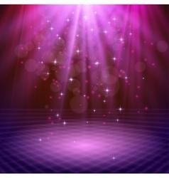 spotlight effect scene background vector image