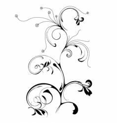 pattern flower vector image