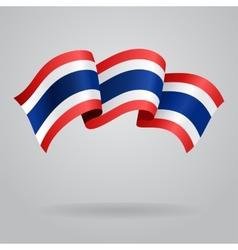 Thai waving Flag vector image