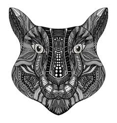 Tiger head image vector image