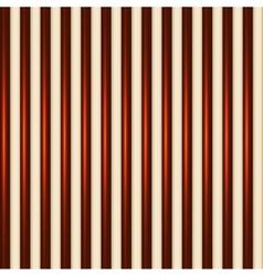 Dark and White Chocolate Striped Seamless vector image