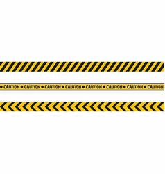 warning tapes seamless hazard stripes texture vector image