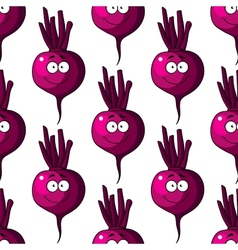 Beetroot seamless pattern vector