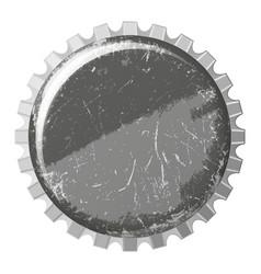 crown cap vector image