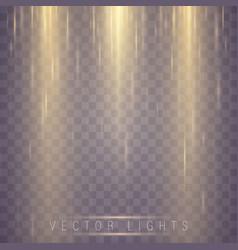 magic light effect vector image