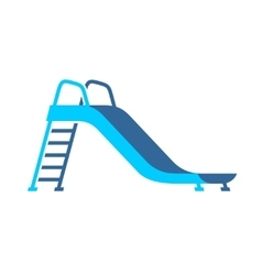 Slide playground for children vector