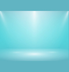 abstract gradient soft blue studio room vector image