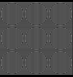 abstract monochrome lines pattern with great vector image
