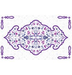 Arabic ornate element vector