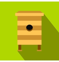 Beehive flat icon vector