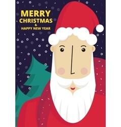 Cute Santa Claus vector image