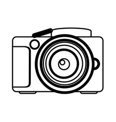 figure camera icon image vector image