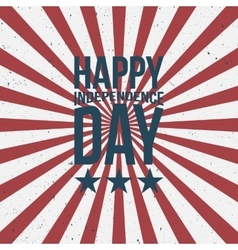 Happy Independence Day greeting Text vector image