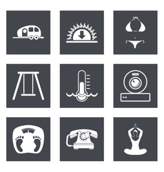 Icons for Web Design set 10 vector image