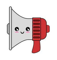 Megaphone device isolated vector