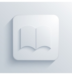 modern book light icon vector image