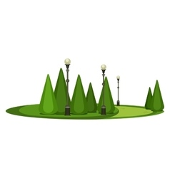 Park Recreation Area vector image