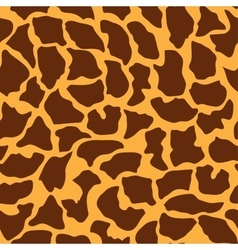 Seamless animal pattern for design vector