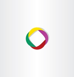 abstract business logotype element vector image