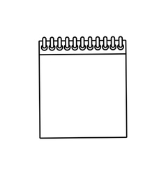 Note paper isolated vector image
