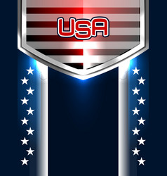 American backgrounds design vector