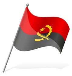 flag of Angola vector image