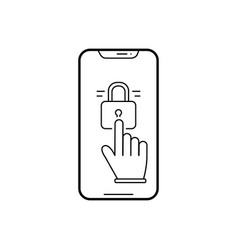 Lock screen vector