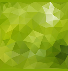 Lush green polygonal background vector