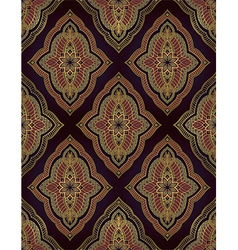 Oriental ornament for carpet vector